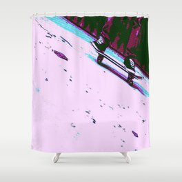 Rolling By Shower Curtain