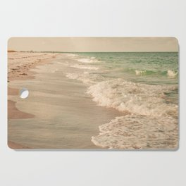 Tropical Beach Love Cutting Board
