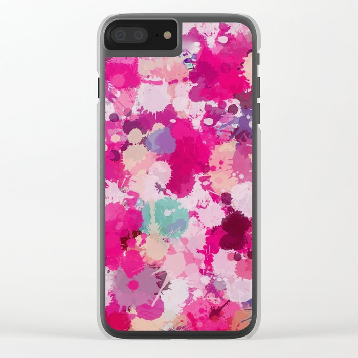 Lovely-440 Clear iPhone Case