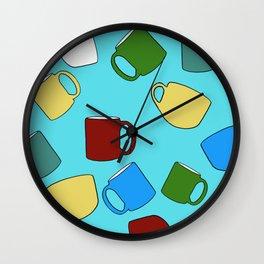 Coffee Mugs! Wall Clock