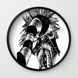 Sandworm Wall Clock
