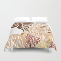 soul Duvet Covers featuring Soul by Cesar Peralta