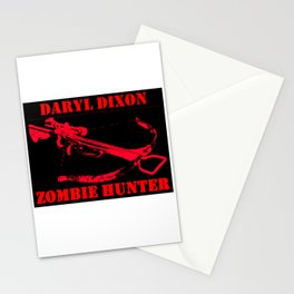 Daryl Dixon- Zombie Hunter Stationery Cards