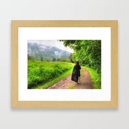 Mystic Of the Mountains Framed Art Print