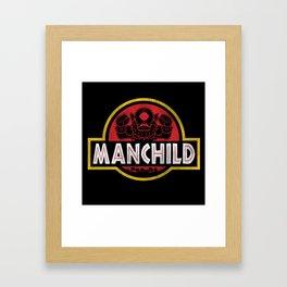 Manchild Park Framed Art Print
