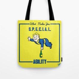 Agility S.P.E.C.I.A.L. Fallout 4 Tote Bag