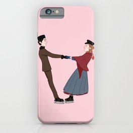 laurie and jo iPhone Case