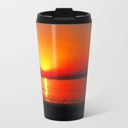 Summer sunset Metal Travel Mug
