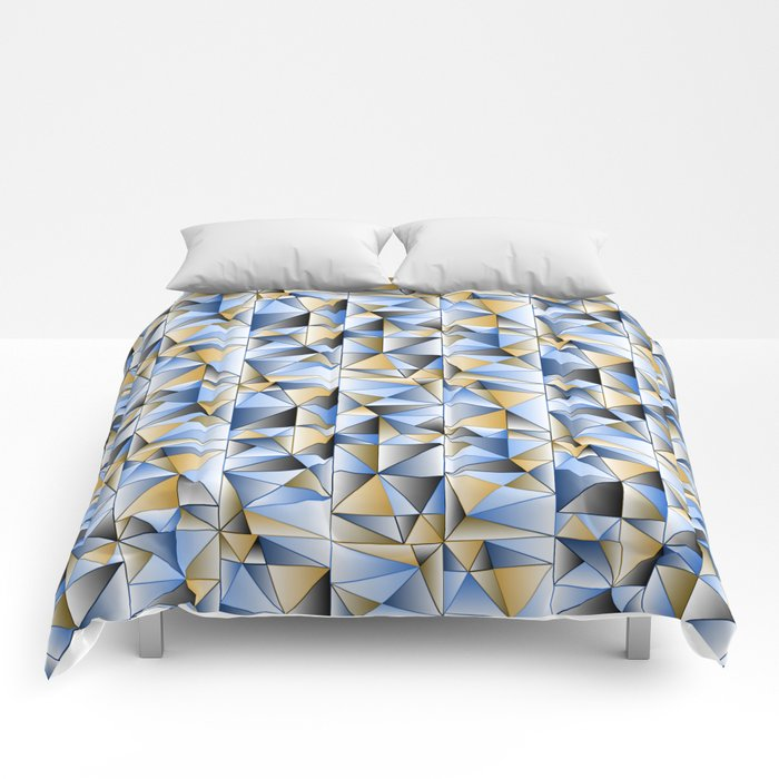 Food Triangle Comforters