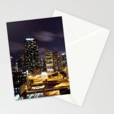 It's Night in New York City Stationery Cards