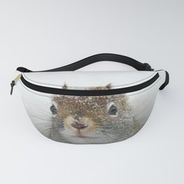 Pop-up Squirrel in the Snow Fanny Pack