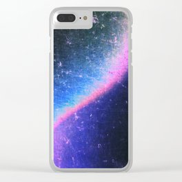 Electric Attraction Clear iPhone Case
