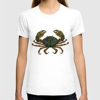 crab T-shirts featuring CRAB by Claire Cousins