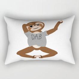 Sloth Dabbing Rectangular Pillow