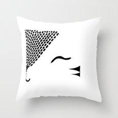 Cute Tiger / Cat Throw Pillow