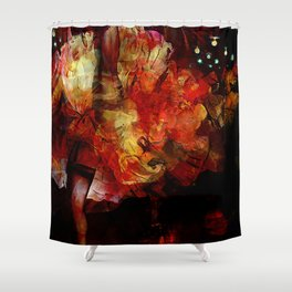 French cancan Shower Curtain