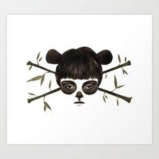 Pirate Panda Art Print