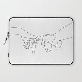 Pinky Swear Laptop Sleeve
