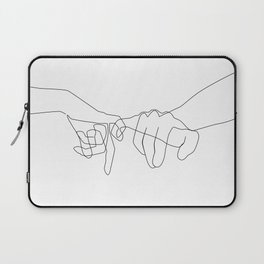 Pinky Swear Laptop Sleeve