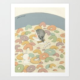 Have a breakfast! Art Print