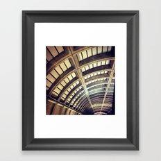 Petworth Metro (Washington, DC) Framed Art Print
