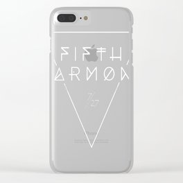 Fifth Harmony Official 7 27 Merch Clear iPhone Case