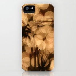 Christmas Silhouettes iPhone Case