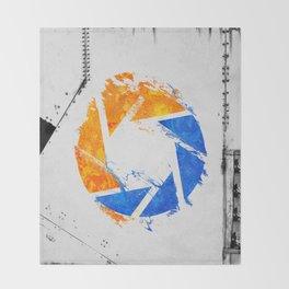 Aperture Vandal Throw Blanket