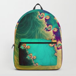 Coloured Smoke Trails Backpack