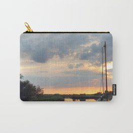 Sunset at horsey mere Carry-All Pouch