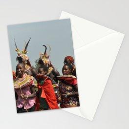 Samburu Morans Stationery Cards