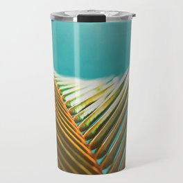 Palm Leaf in Detail Travel Mug
