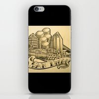 "san diego iPhone & iPod Skins featuring ""San Diego"" by Vic Martin"