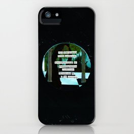 One Great Tragedy iPhone Case