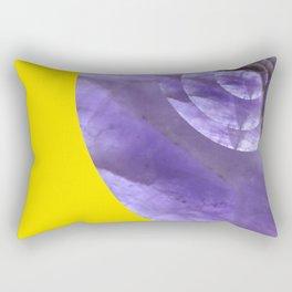 Yellow Mystical Powers of Amethyst #society6 Rectangular Pillow