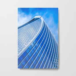 Sky Garden building. architecture photography poster art print  Metal Print