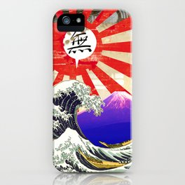 COLLAGE: Hokusai iPhone Case