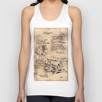 lovecraft Tank Tops featuring Lovecraft Series:  Shoggoth by Furry Turtle Creations