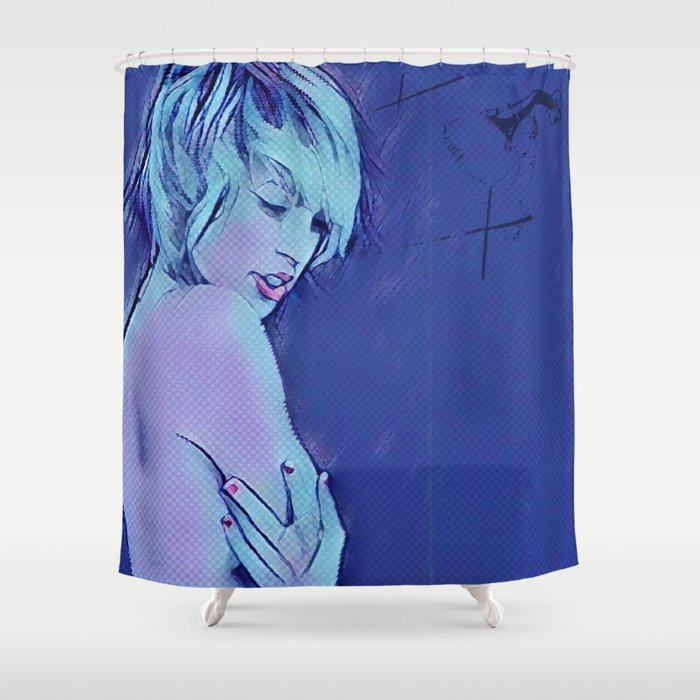 Wash It Away (part 3 of 3) Shower Curtain