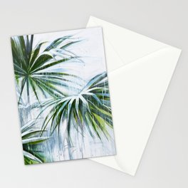 Palm and rain Stationery Cards