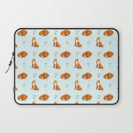 Fox Pattern Laptop Sleeve