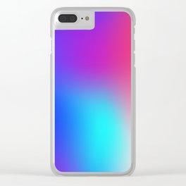 Vivid Holo Gradient Clear iPhone Case