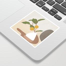 Mandarin Branch Sticker