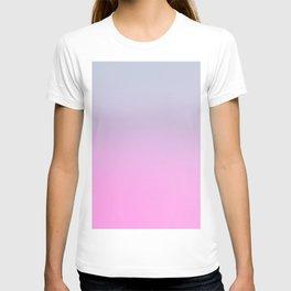 UNLIKE OTHER - Minimal Plain Soft Mood Color Blend Prints T-shirt