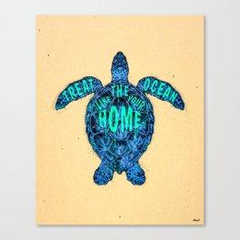 ocean omega Canvas Print