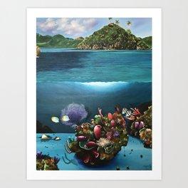 "Hector Bedoya, ""The Crab Key"". 2012. Art Print"