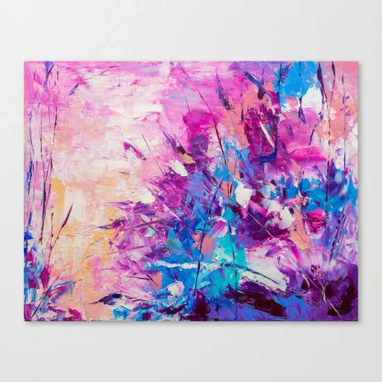Paradise Bush Canvas Print