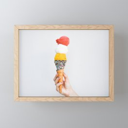 Stacked Gelato Framed Mini Art Print