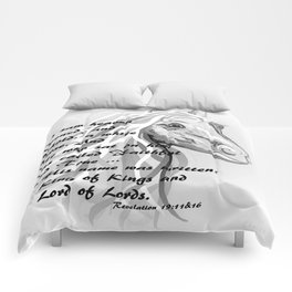 White Horse of a King Comforters