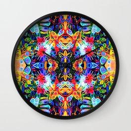 Quadribunda I Wall Clock